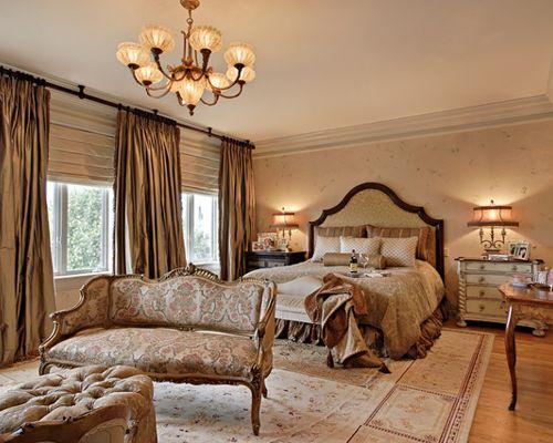 traditional romantic bedroom ideas photo - 10