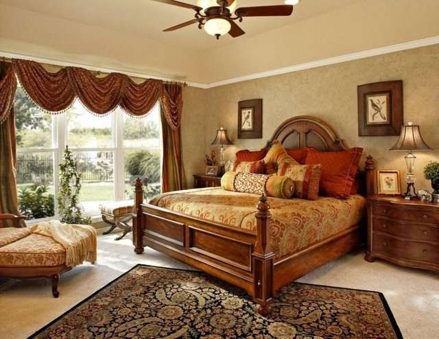 traditional romantic bedroom ideas photo - 9