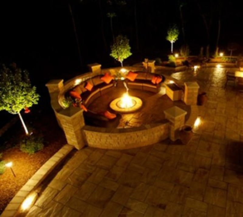 tropical outdoor wall lighting photo - 3