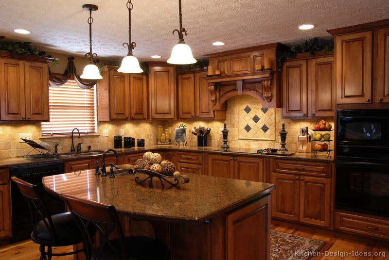 tuscan kitchen cabinets ideas photo - 1