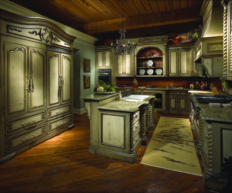 tuscan kitchen cabinets ideas photo - 4