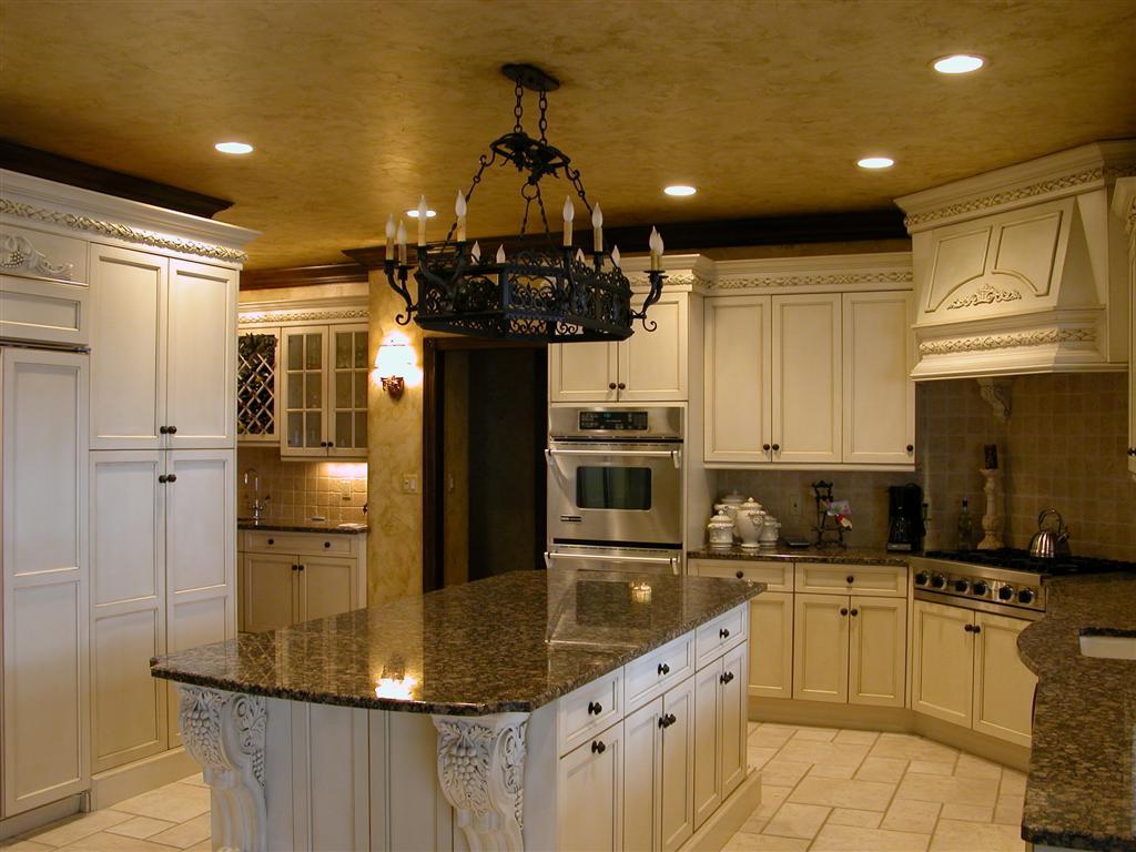 tuscan kitchen cabinets ideas photo - 5
