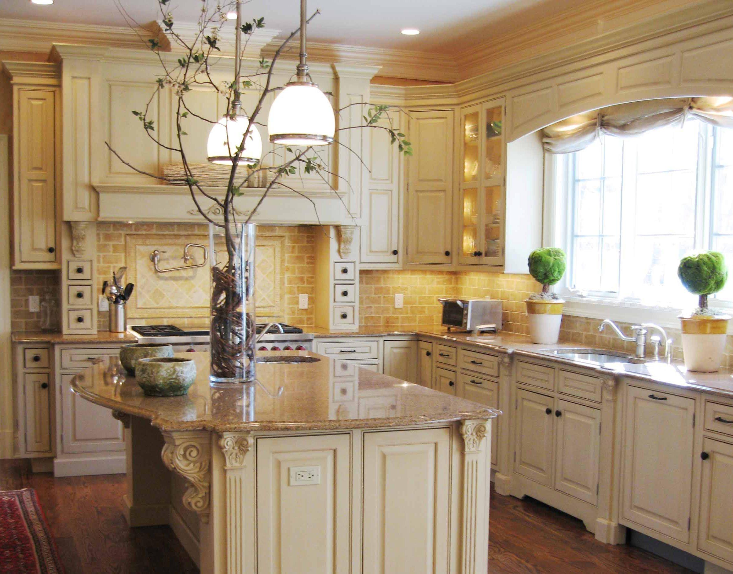 tuscan kitchen cabinets ideas photo - 6
