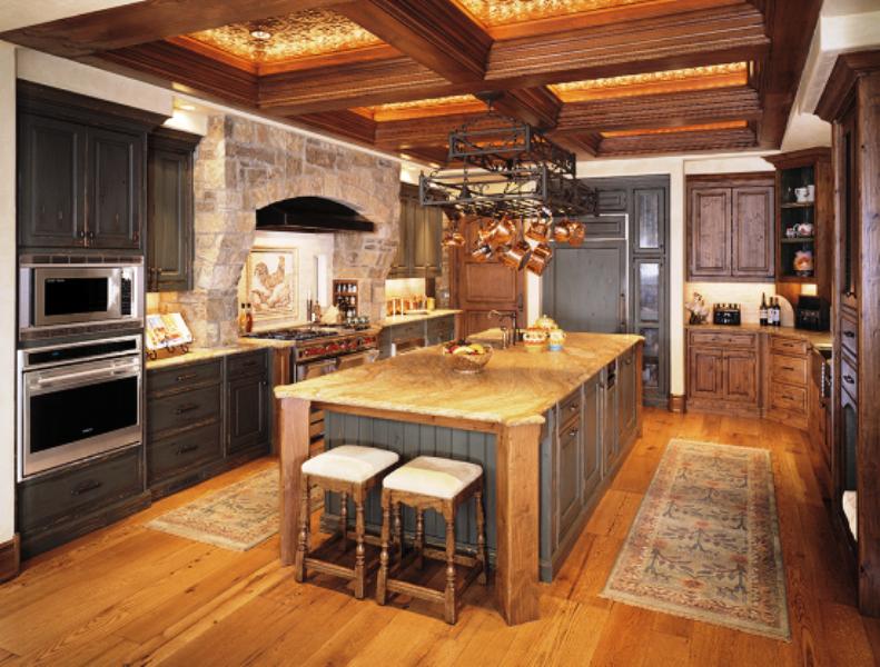 tuscan kitchen cabinets ideas photo - 7