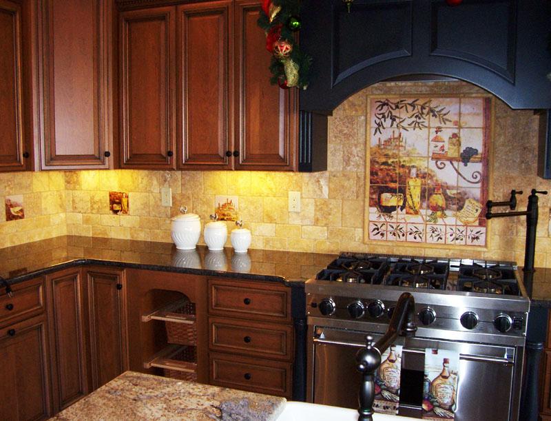 tuscan kitchen cabinets ideas photo - 9