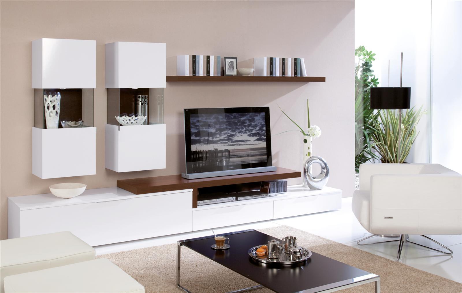 tv wall unit design ideas photo - 10