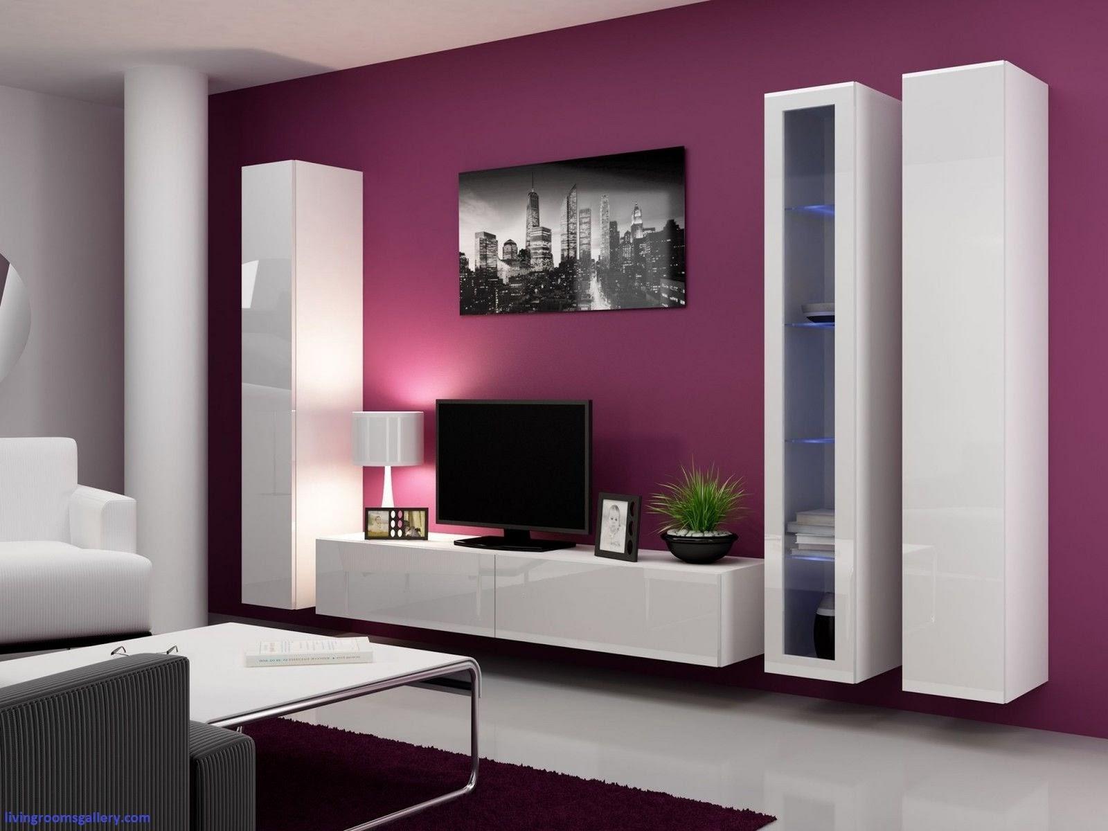 tv wall unit design ideas photo - 2