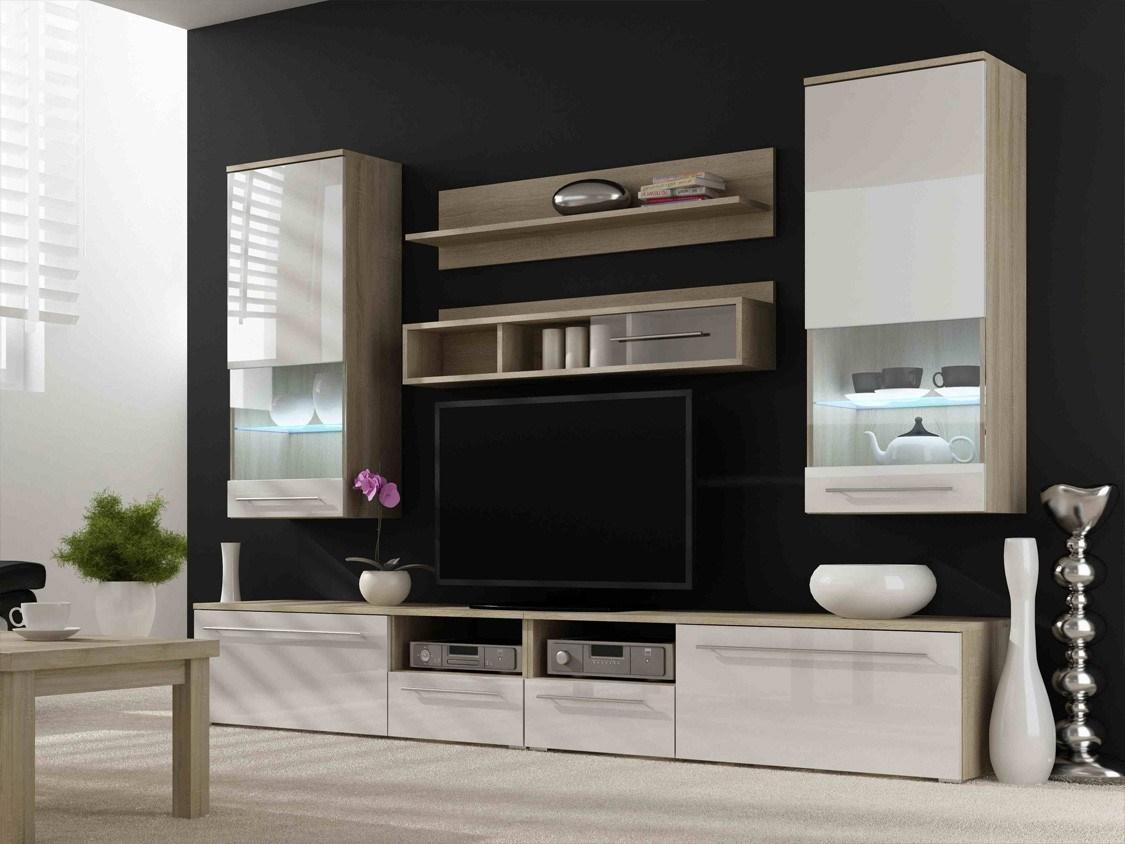 tv wall unit design ideas photo - 4