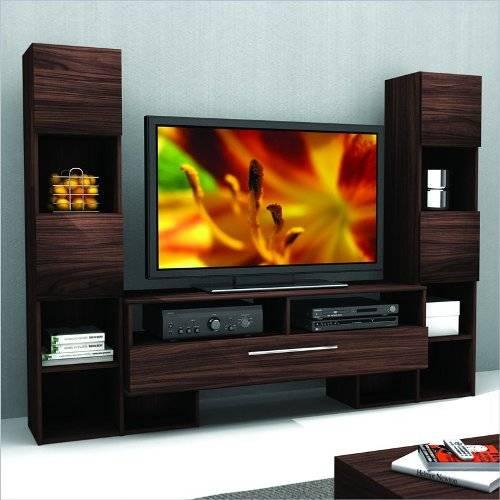tv wall unit design ideas photo - 5