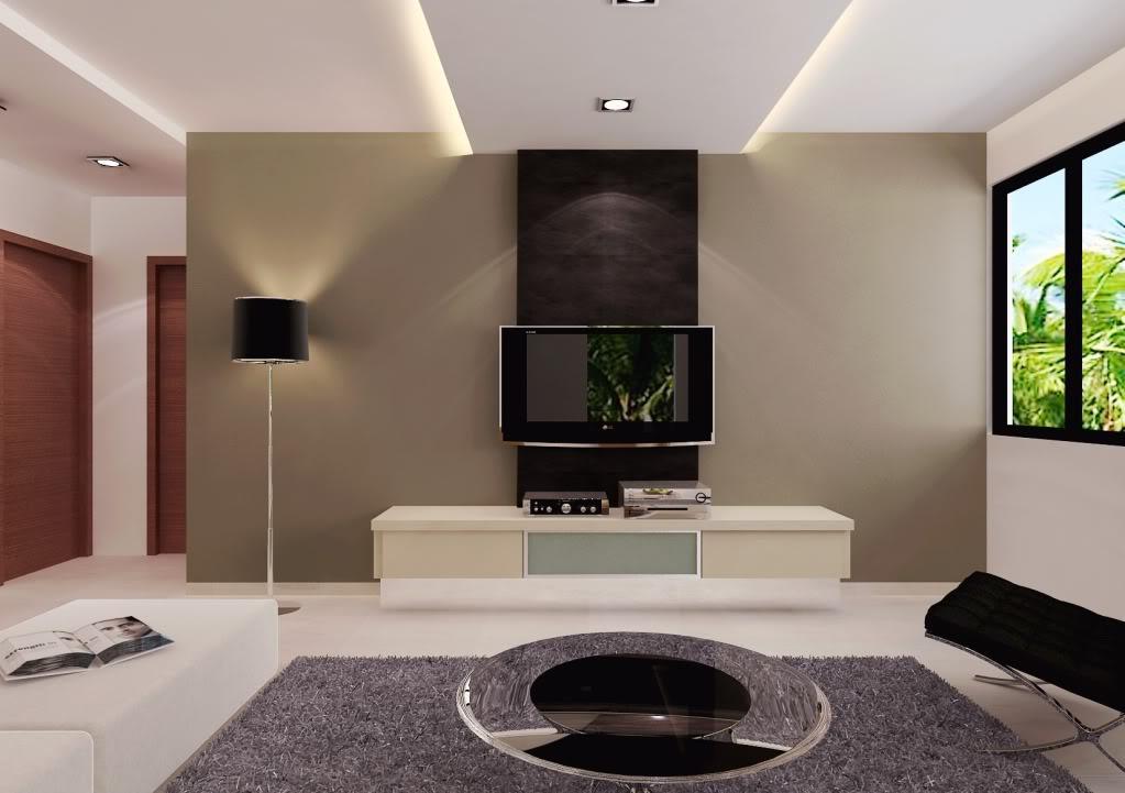 tv wall unit design ideas photo - 7