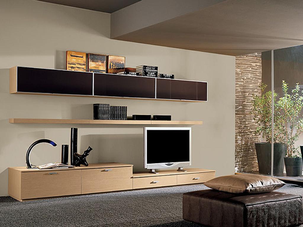tv wall unit design ideas photo - 8