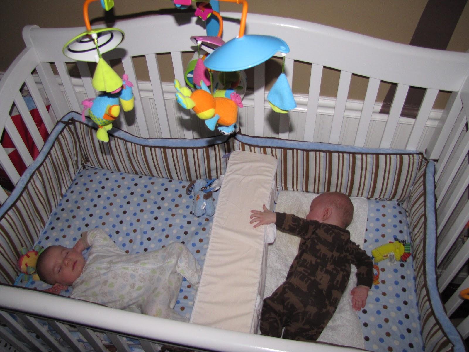twin baby crib divider photo - 10