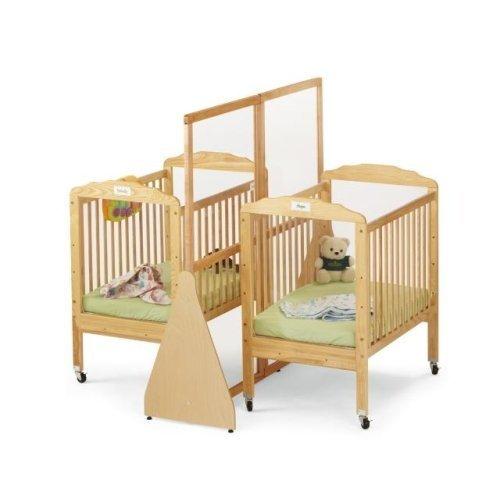 twin baby crib divider photo - 6
