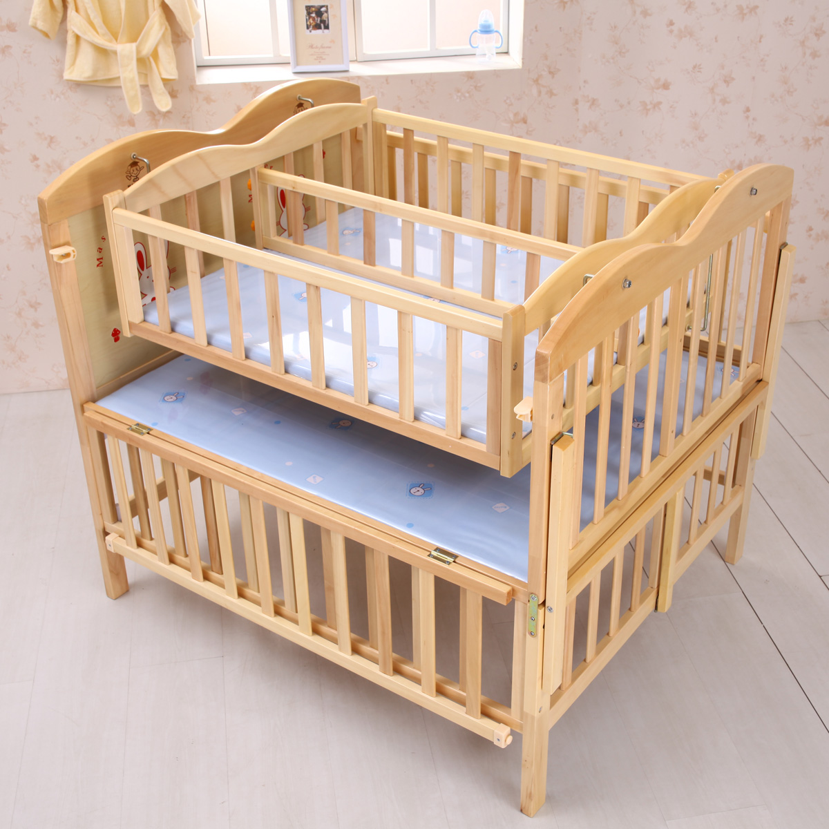 twin baby furniture photo - 2