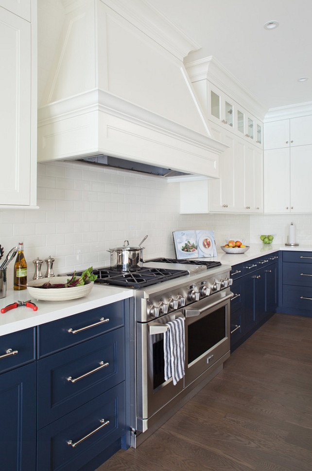 Two Color Kitchen Cabinets Ideas Part - 19: Two Color Kitchen Cabinets Ideas Photo - 9