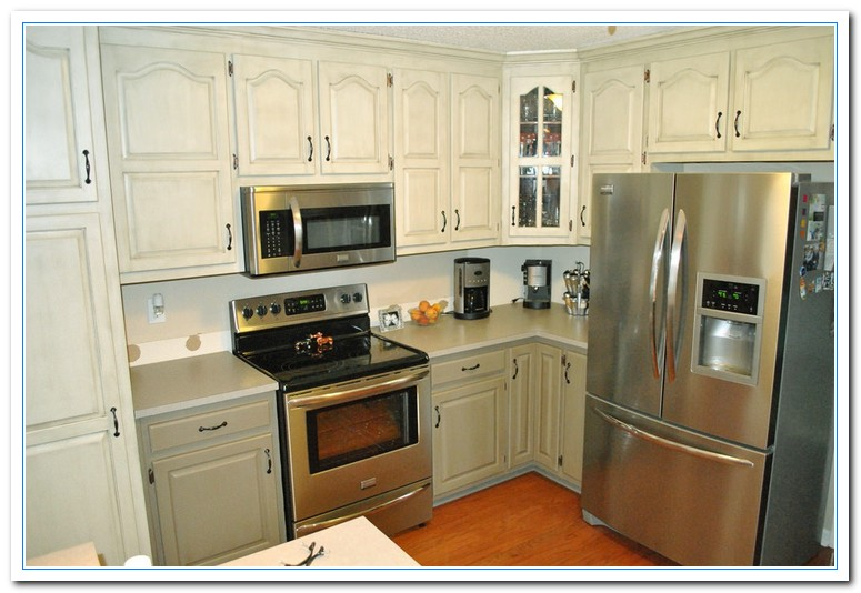 two tone kitchen cabinets ideas photo - 10