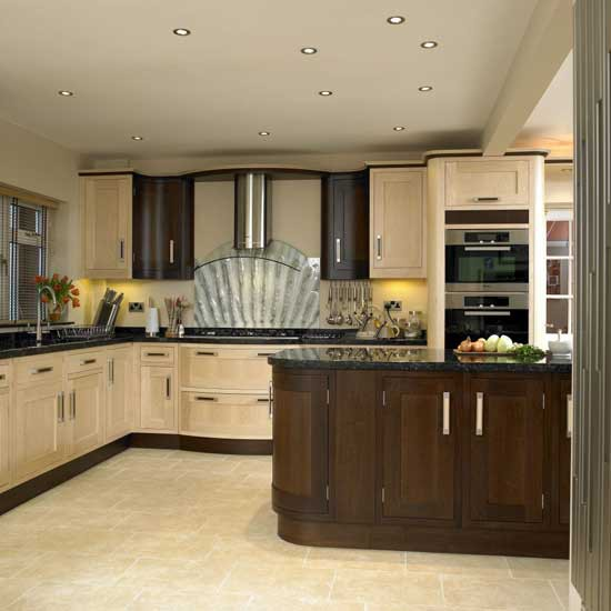 two tone kitchen cabinets ideas photo - 8