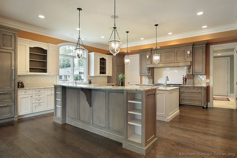 two tone kitchen cabinets ideas photo - 9
