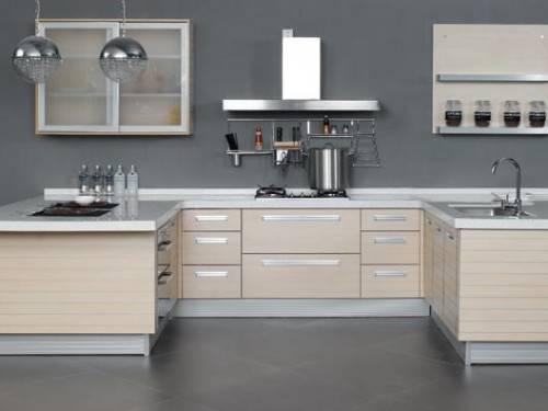u shaped kitchen appliance layout photo - 1