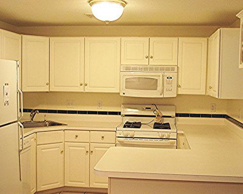 u shaped kitchen appliance layout photo - 4