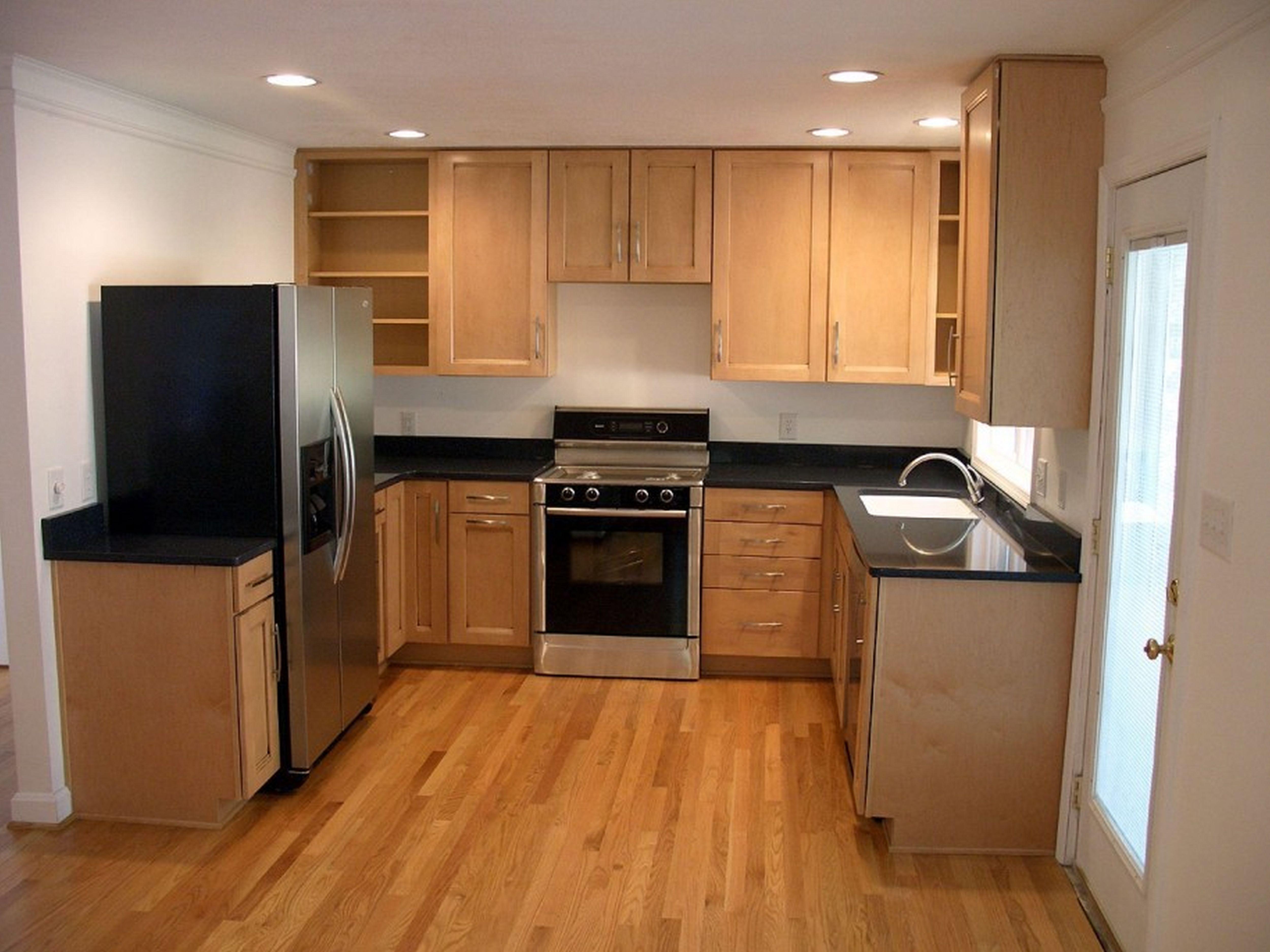 u shaped kitchen cabinets photo - 10