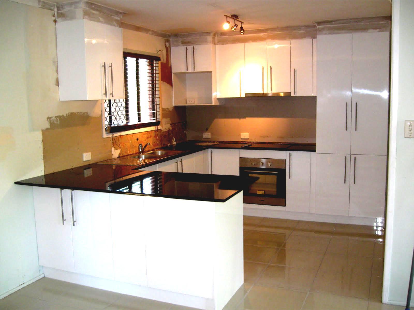 u shaped kitchen cabinets photo - 4