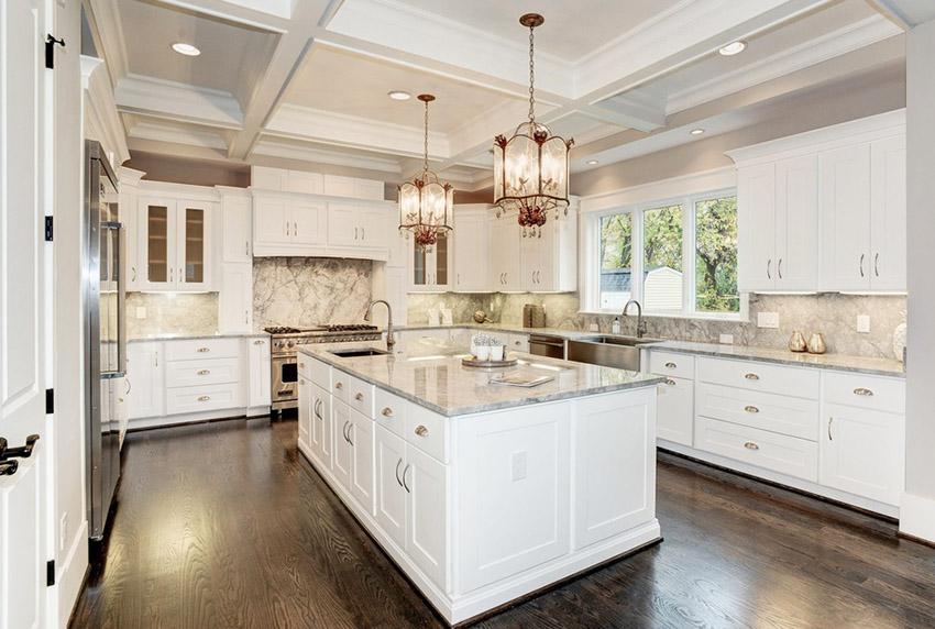 u shaped kitchen cabinets photo - 8