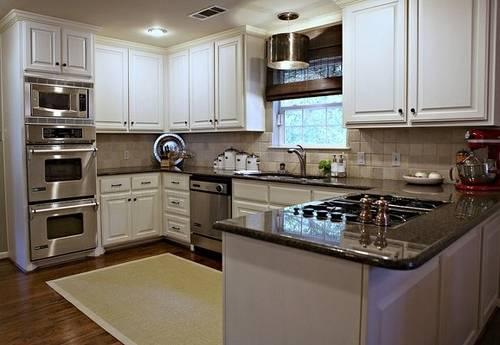 u shaped kitchen counter photo - 1
