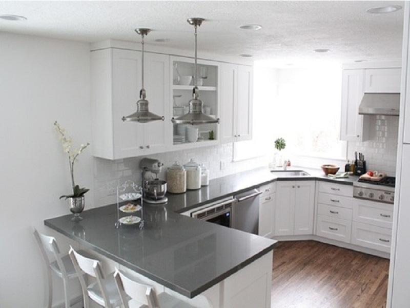 u shaped kitchen counter photo - 3
