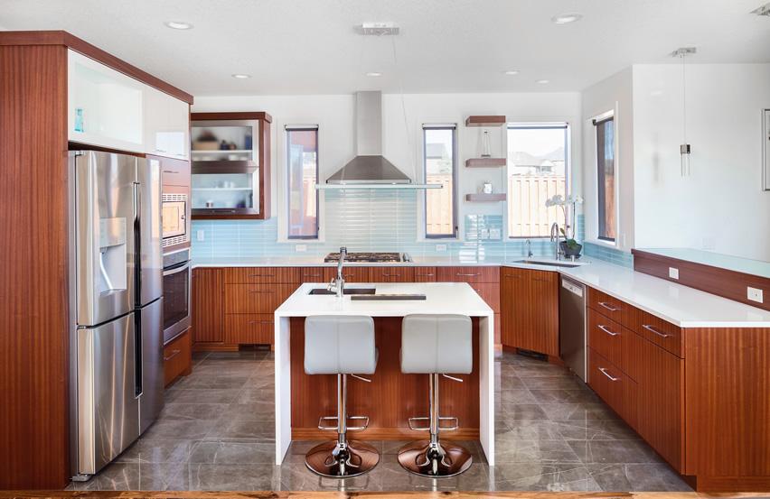 u shaped kitchen counter photo - 5
