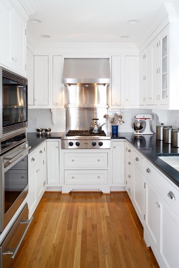 u shaped kitchen counter photo - 6