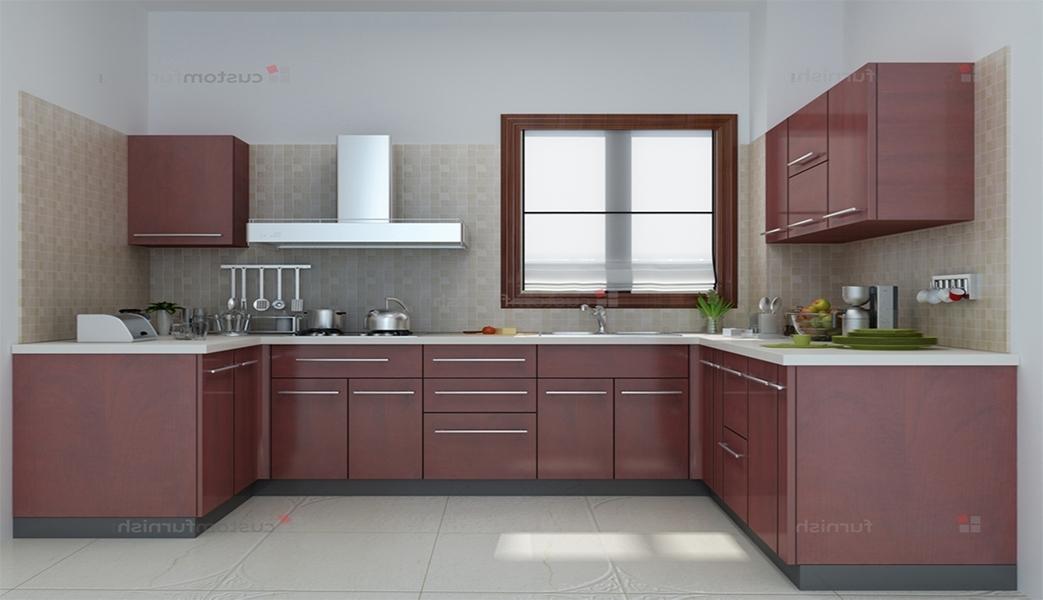 u shaped kitchen cupboards photo - 6