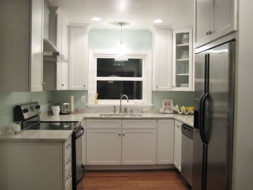 u shaped kitchen cupboards photo - 7