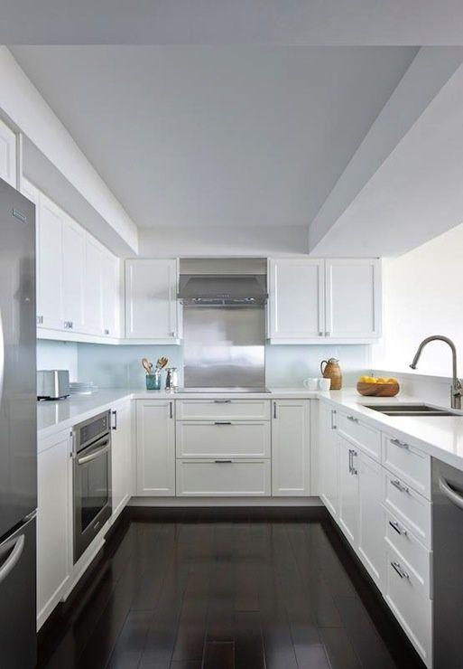 u shaped kitchen cupboards photo - 8
