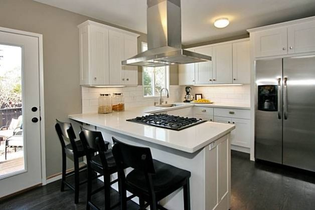 U Shaped Kitchen Designs With Breakfast Bar Photo 2