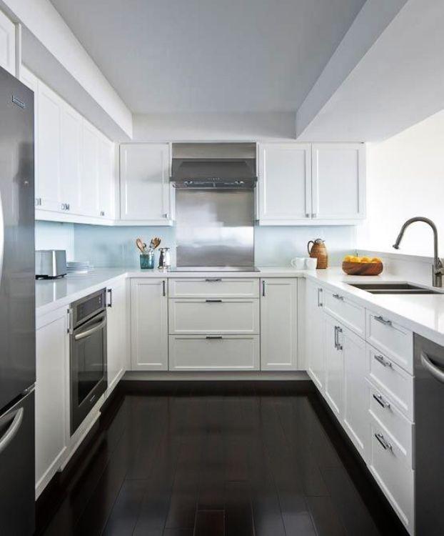 U shaped kitchen designs without island | Hawk Haven