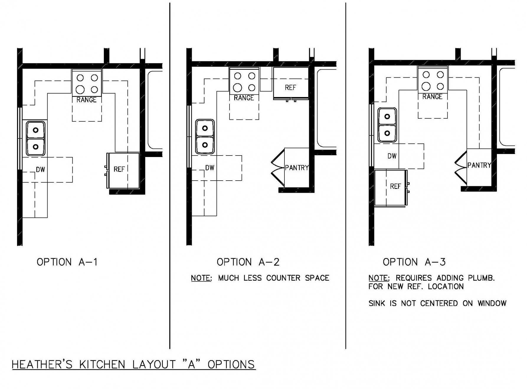 u shaped kitchen floor plans photo - 9