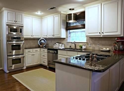 u shaped kitchen layouts with island photo - 9