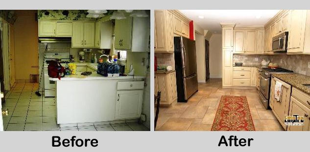 u shaped kitchen makeovers photo - 10