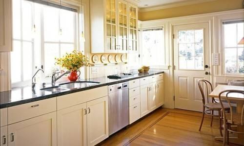 u shaped kitchen makeovers photo - 2