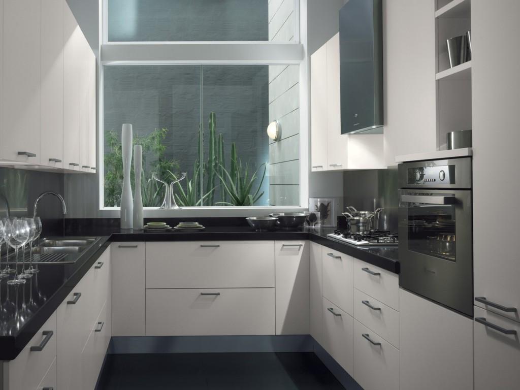 u shaped kitchen makeovers photo - 7