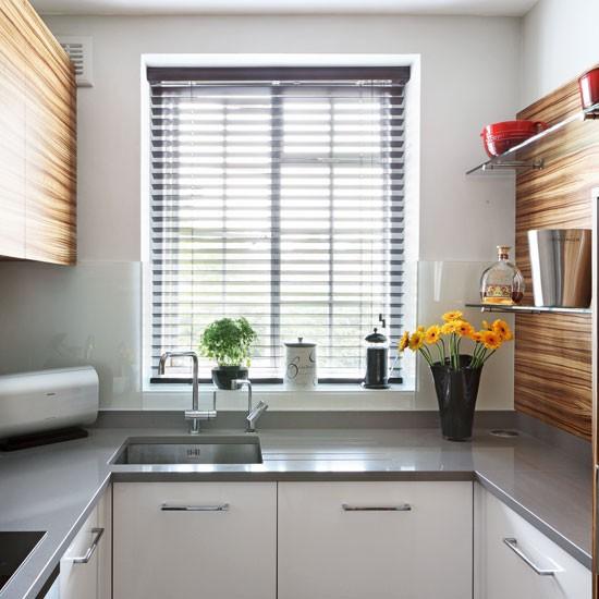 u shaped kitchen small photo - 10
