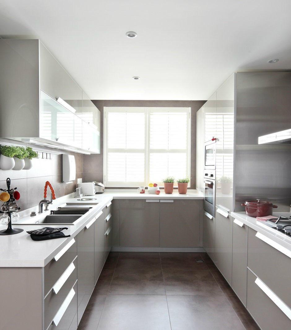 u shaped kitchen small photo - 5