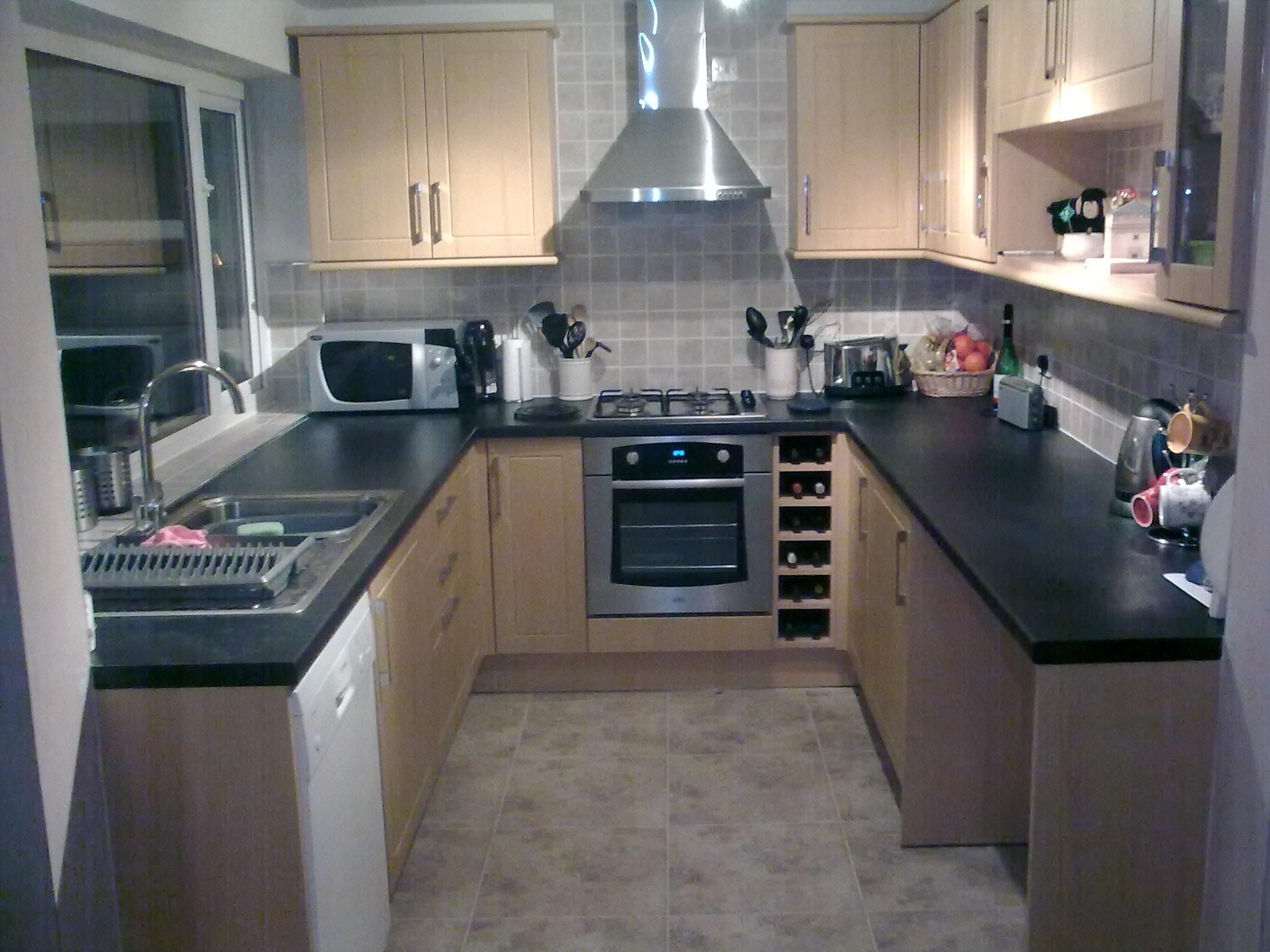 u shaped kitchen small photo - 9