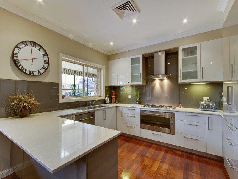 u shaped kitchen with island bench photo - 10