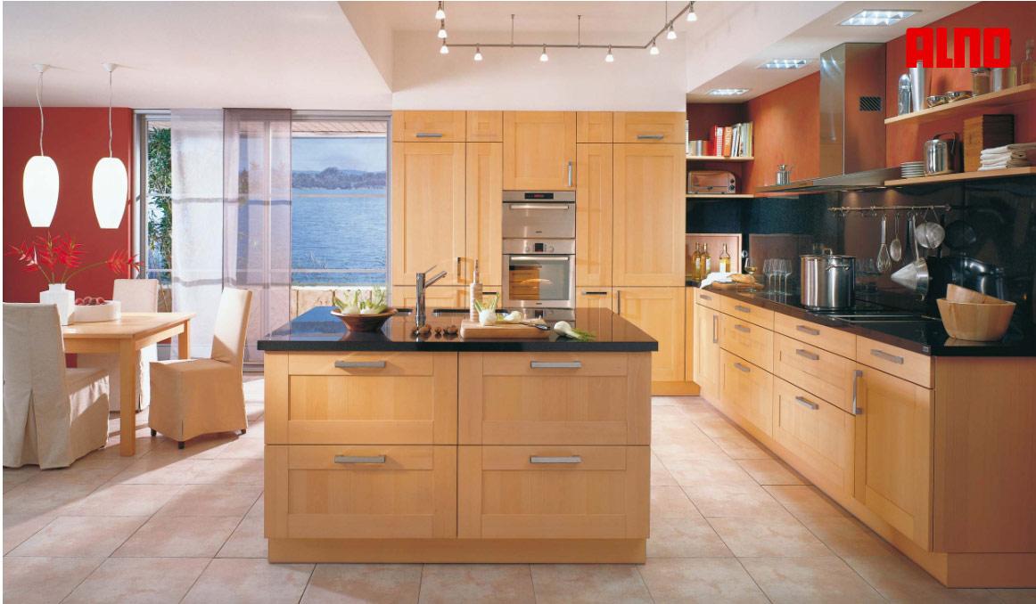 u shaped kitchen with island bench photo - 5