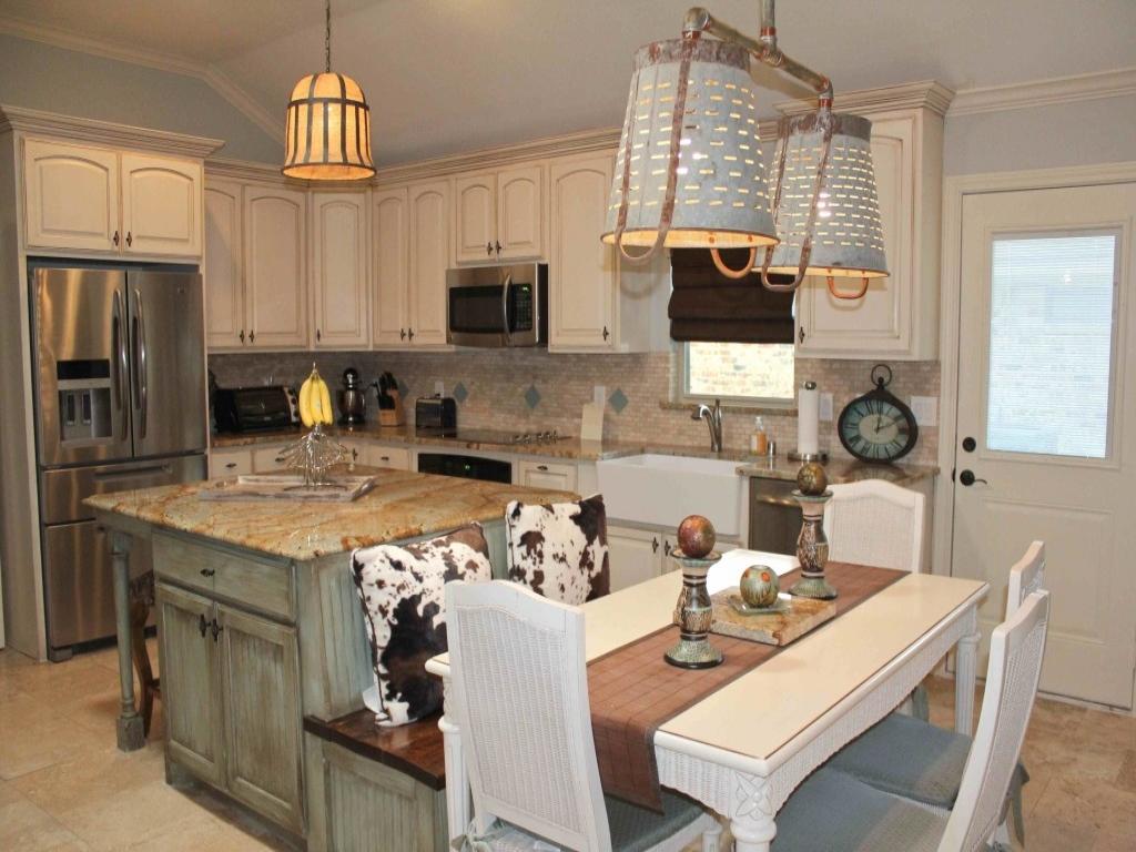 u shaped kitchen with island bench photo - 9