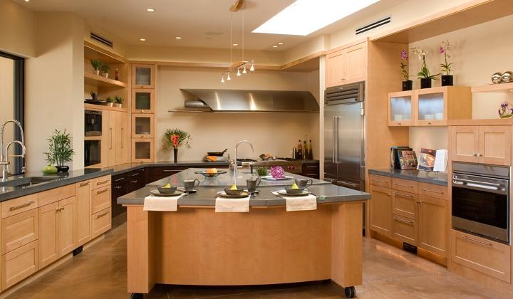 unique kitchen island designs photo - 4