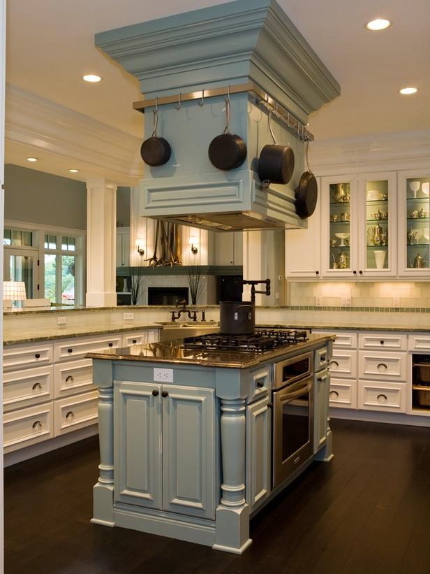 unique kitchen island designs photo - 8