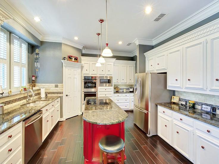 unique kitchen island designs photo - 9